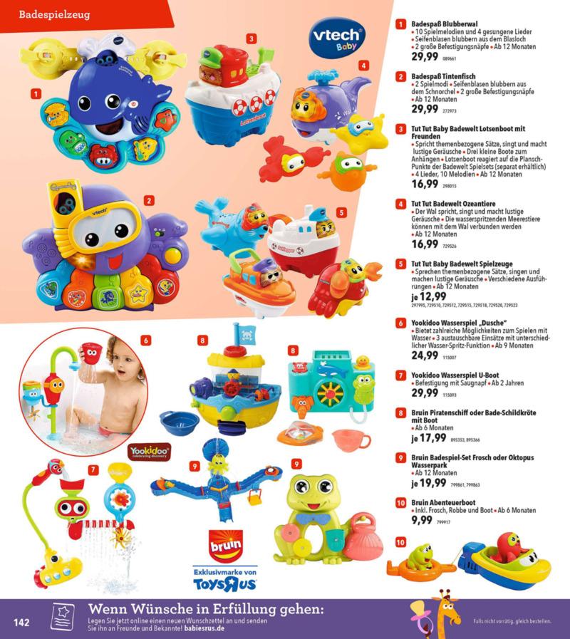 Toys'R'Us Prospekt vom 19.03.2018, Seite 141