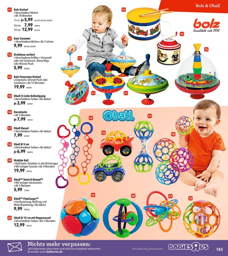 Toys'R'Us Prospekt vom 19.03.2018, Seite 142