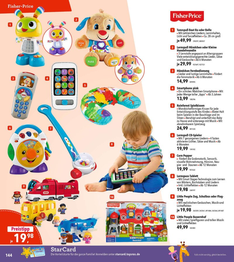 Toys'R'Us Prospekt vom 19.03.2018, Seite 143