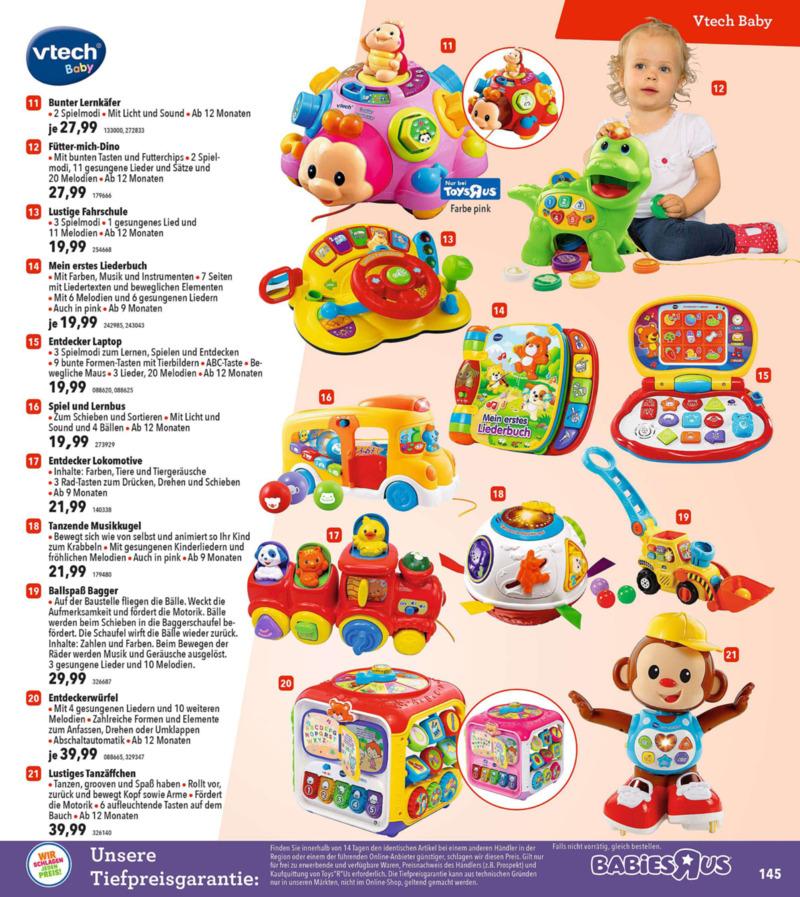 Toys'R'Us Prospekt vom 19.03.2018, Seite 144