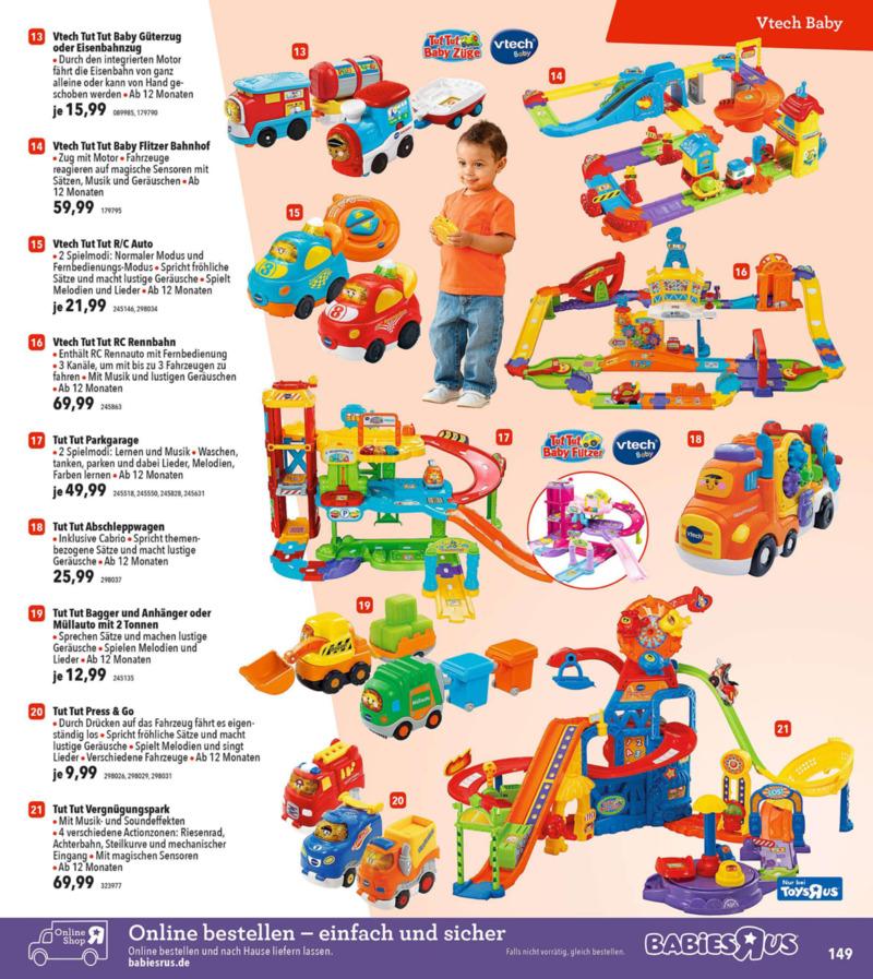 Toys'R'Us Prospekt vom 19.03.2018, Seite 148