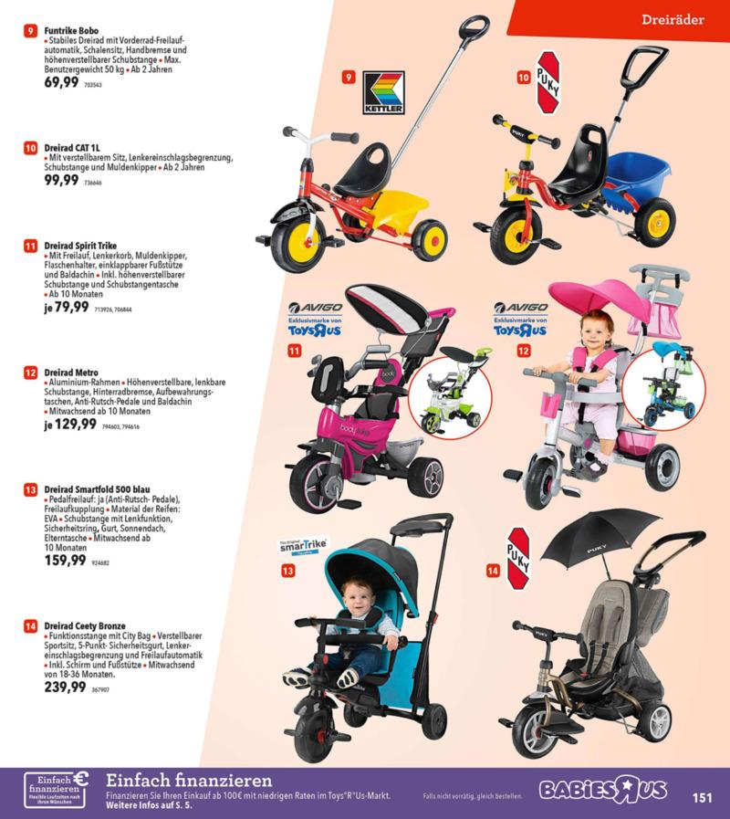 Toys'R'Us Prospekt vom 19.03.2018, Seite 150