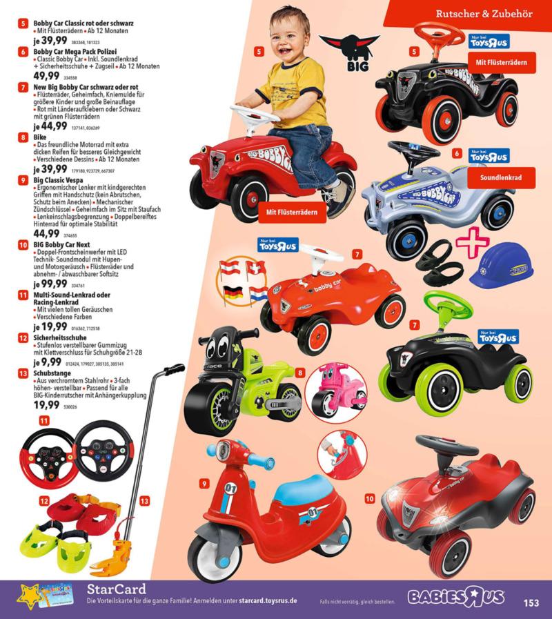 Toys'R'Us Prospekt vom 19.03.2018, Seite 152
