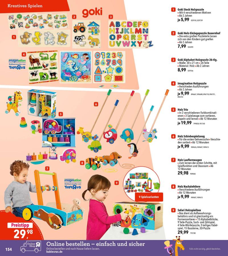 Toys'R'Us Prospekt vom 19.03.2018, Seite 153