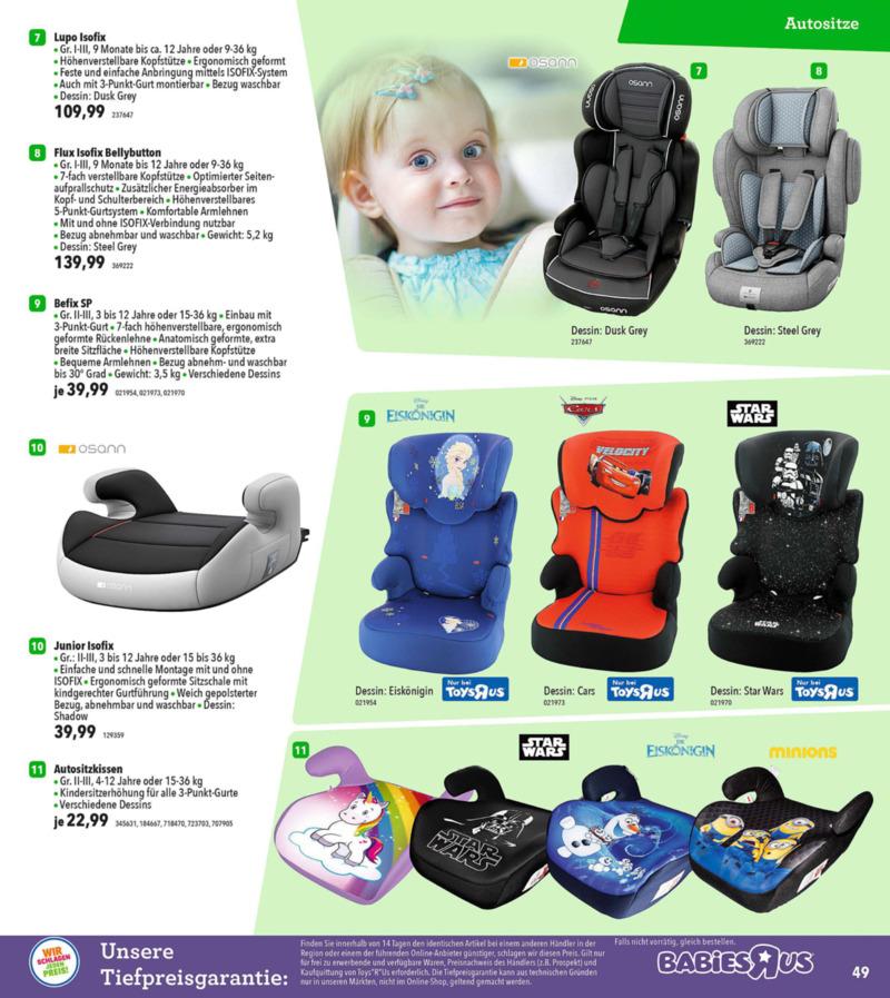 Toys'R'Us Prospekt vom 19.03.2018, Seite 48