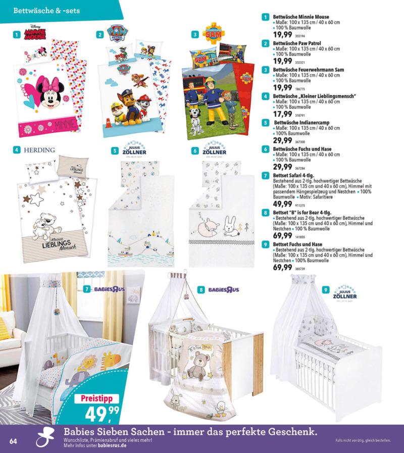 Toys'R'Us Prospekt vom 19.03.2018, Seite 63