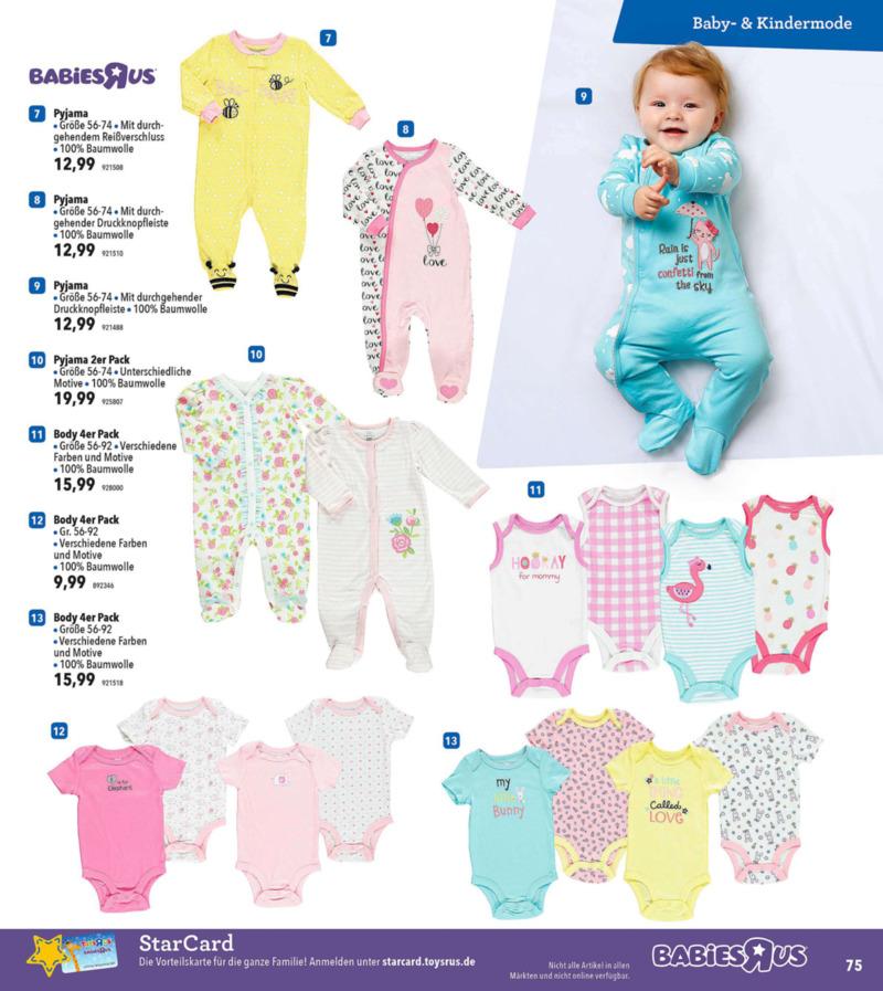 Toys'R'Us Prospekt vom 19.03.2018, Seite 74