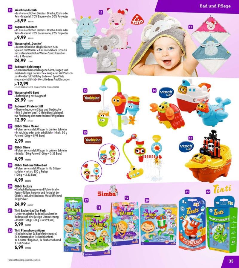 Toys'R'Us Prospekt vom 13.10.2018, Seite 34