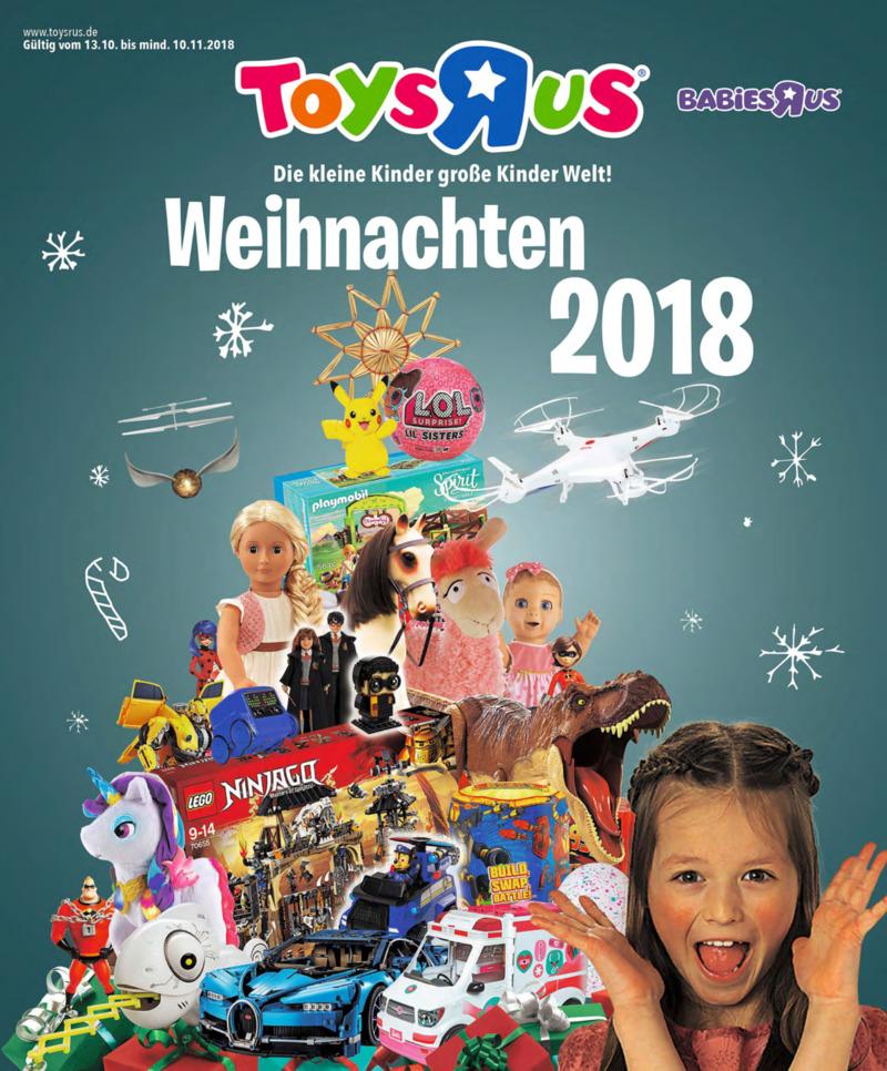 Toys'R'Us Prospekt vom 13.10.2018, Seite