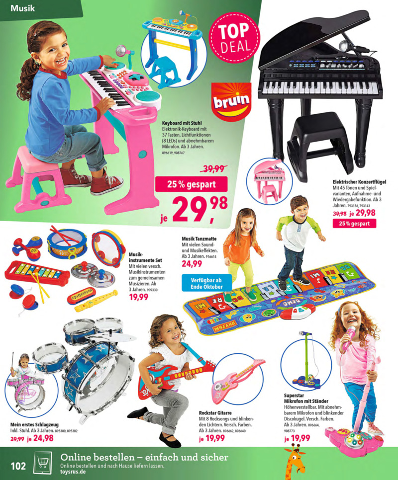 Toys'R'Us Prospekt vom 13.10.2018, Seite 101