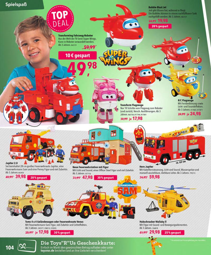 Toys'R'Us Prospekt vom 13.10.2018, Seite 103