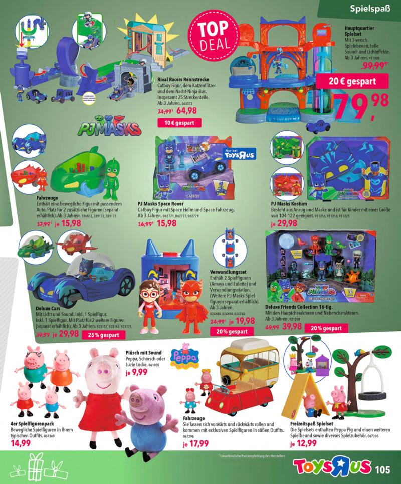 Toys'R'Us Prospekt vom 13.10.2018, Seite 104