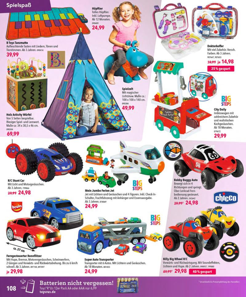 Toys'R'Us Prospekt vom 13.10.2018, Seite 107