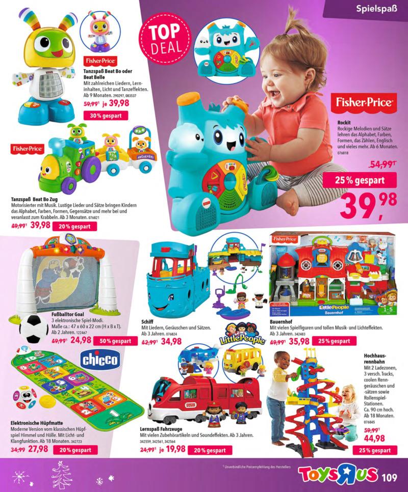 Toys'R'Us Prospekt vom 13.10.2018, Seite 108