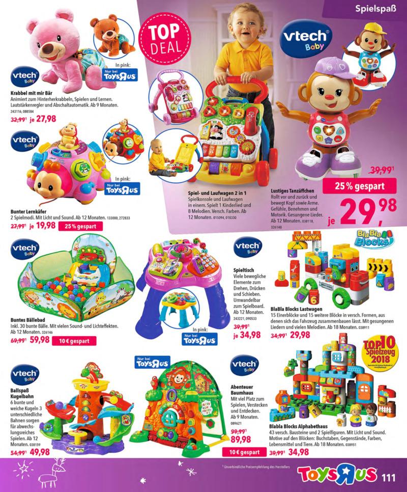 Toys'R'Us Prospekt vom 13.10.2018, Seite 110