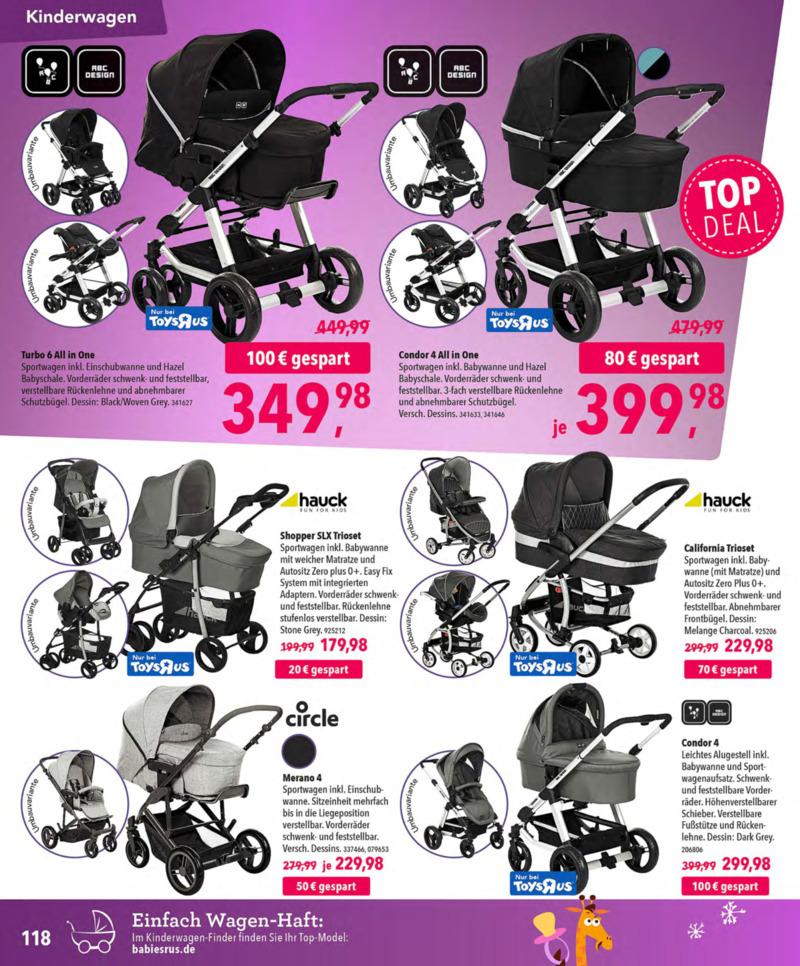 Toys'R'Us Prospekt vom 13.10.2018, Seite 117