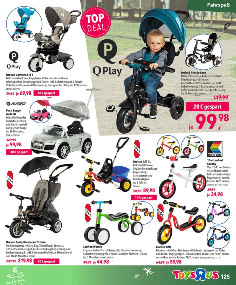 Toys'R'Us Prospekt vom 13.10.2018, Seite 124
