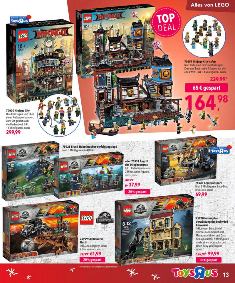 Toys'R'Us Prospekt vom 13.10.2018, Seite 12