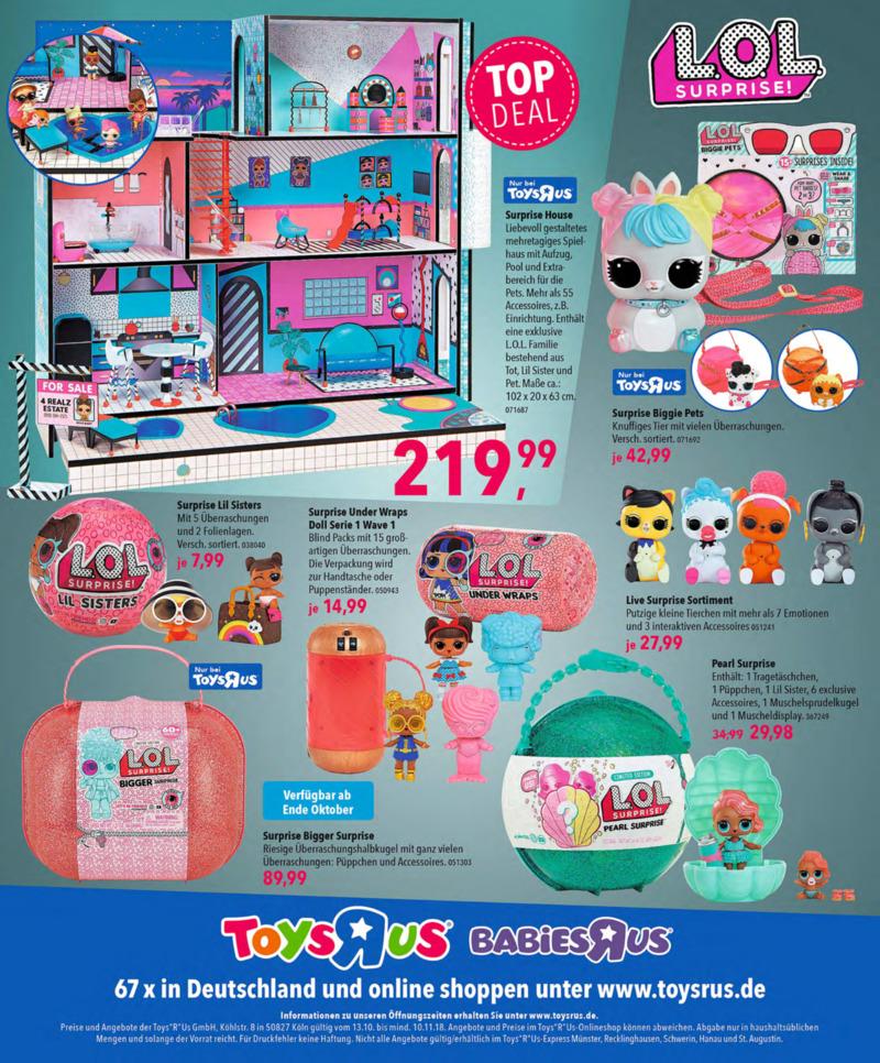 Toys'R'Us Prospekt vom 13.10.2018, Seite 131