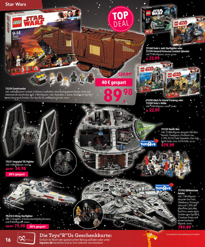Toys'R'Us Prospekt vom 13.10.2018, Seite 15