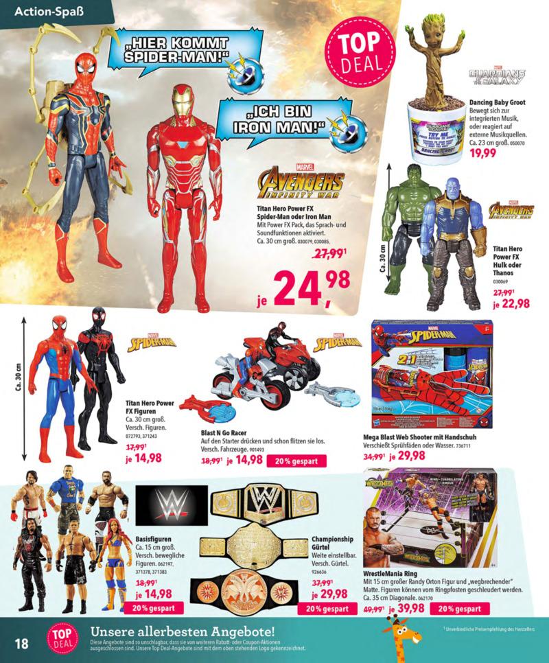 Toys'R'Us Prospekt vom 13.10.2018, Seite 17