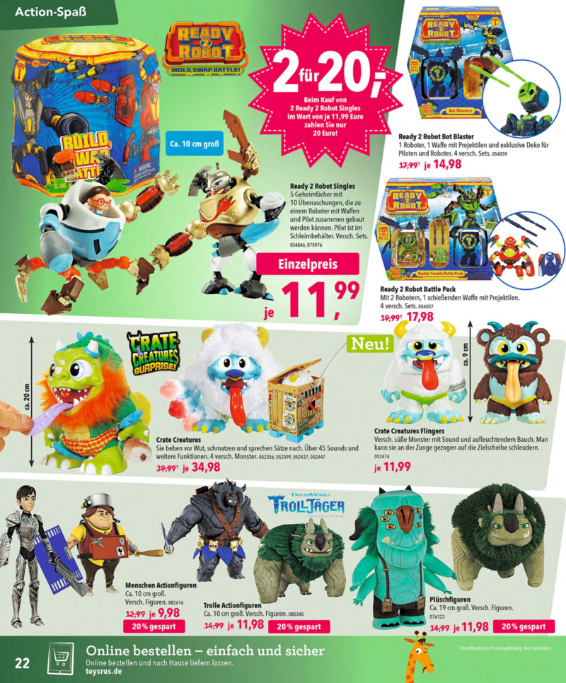 Toys'R'Us Prospekt vom 13.10.2018, Seite 21