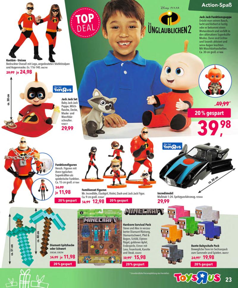 Toys'R'Us Prospekt vom 13.10.2018, Seite 22