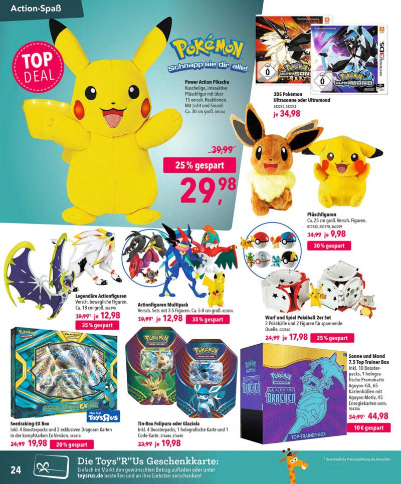 Toys'R'Us Prospekt vom 13.10.2018, Seite 23