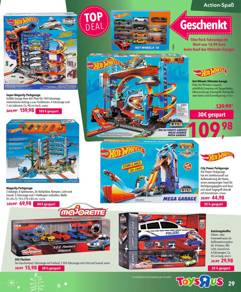 Toys'R'Us Prospekt vom 13.10.2018, Seite 28
