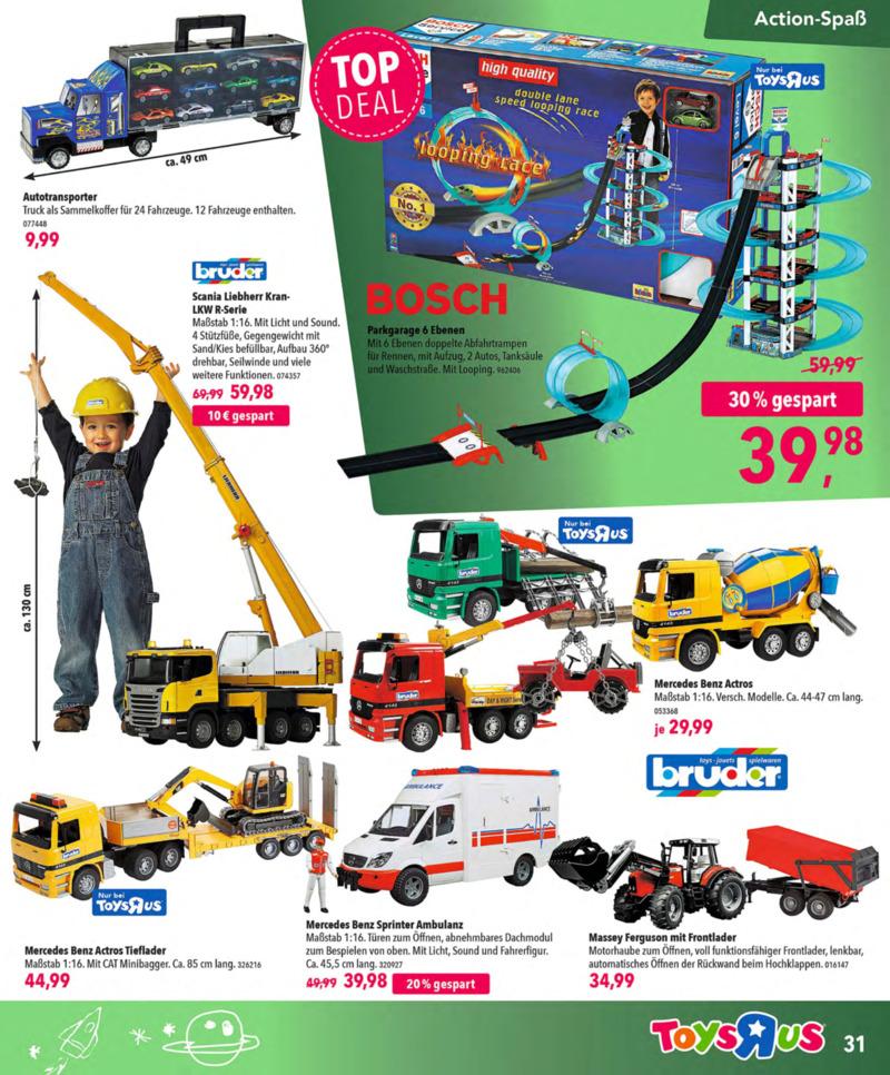 Toys'R'Us Prospekt vom 13.10.2018, Seite 30