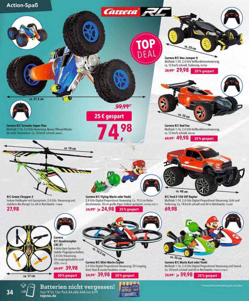 Toys'R'Us Prospekt vom 13.10.2018, Seite 33