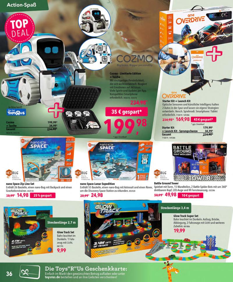 Toys'R'Us Prospekt vom 13.10.2018, Seite 35