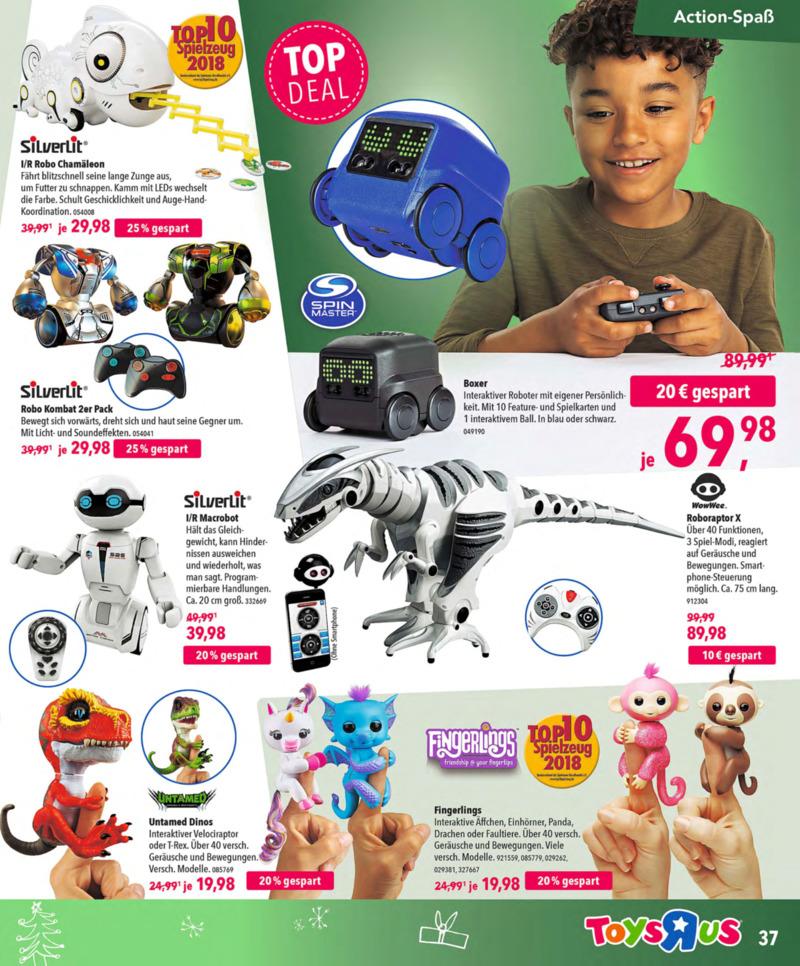 Toys'R'Us Prospekt vom 13.10.2018, Seite 36
