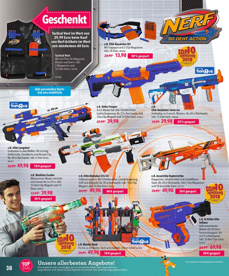 Toys'R'Us Prospekt vom 13.10.2018, Seite 37