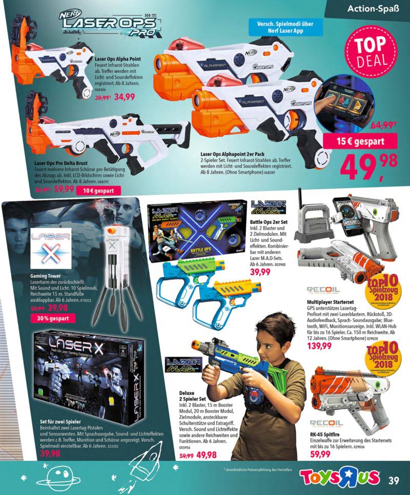 Toys'R'Us Prospekt vom 13.10.2018, Seite 38