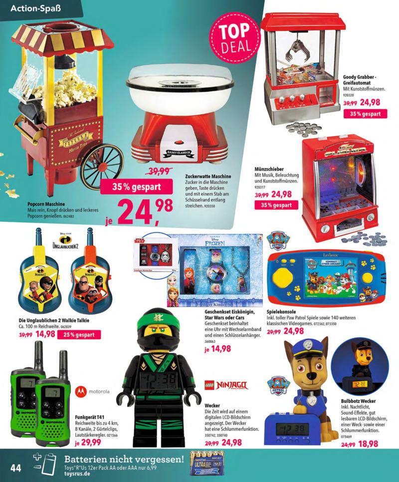 Toys'R'Us Prospekt vom 13.10.2018, Seite 43