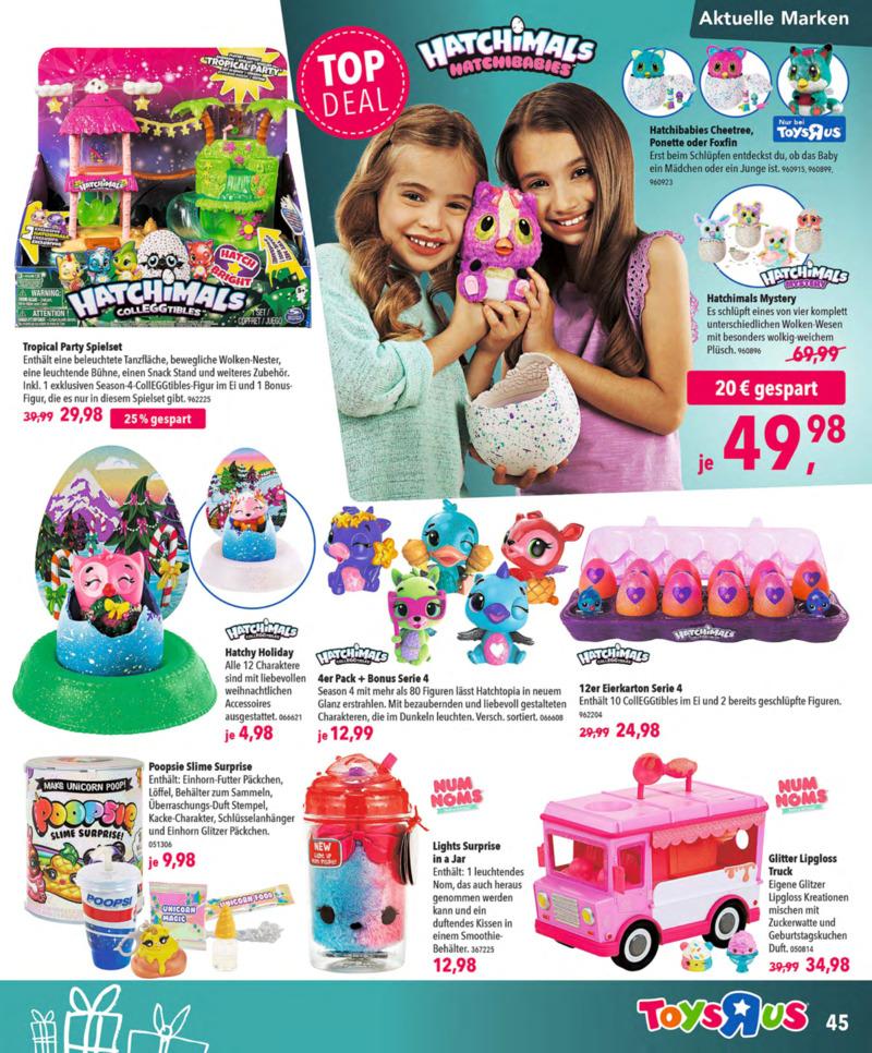 Toys'R'Us Prospekt vom 13.10.2018, Seite 44