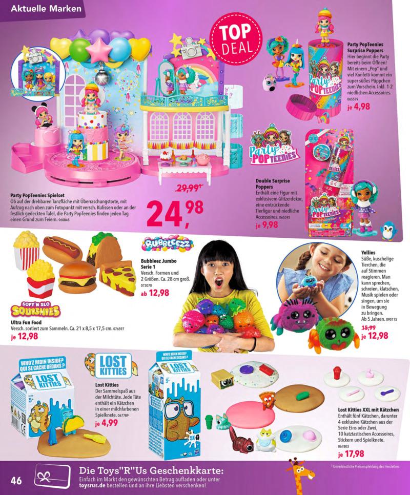 Toys'R'Us Prospekt vom 13.10.2018, Seite 45