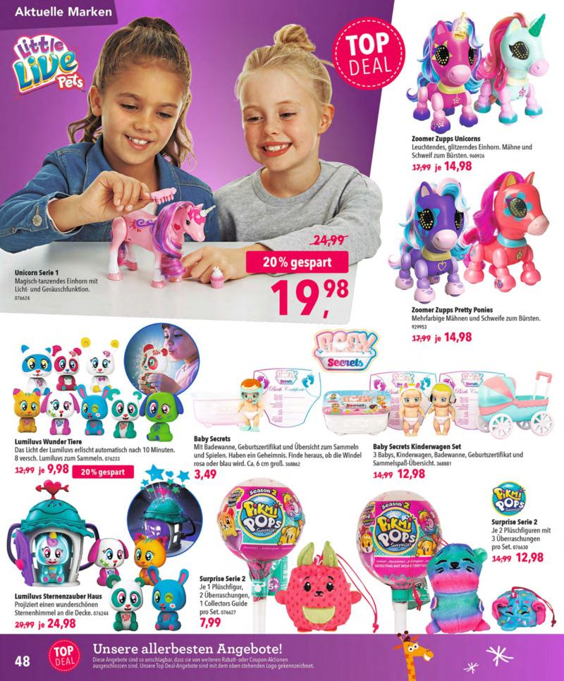 Toys'R'Us Prospekt vom 13.10.2018, Seite 47