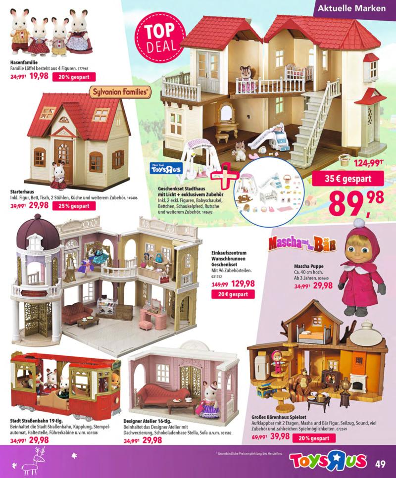 Toys'R'Us Prospekt vom 13.10.2018, Seite 48