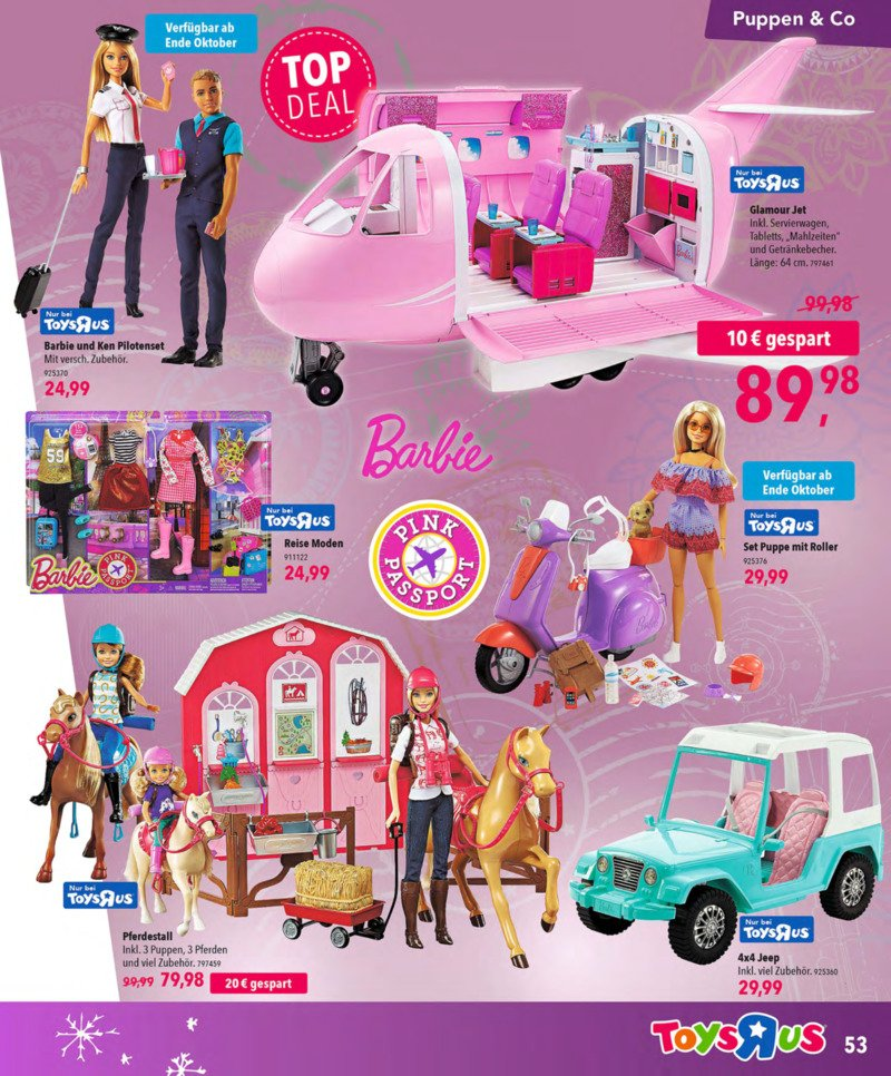 Toys'R'Us Prospekt vom 13.10.2018, Seite 52