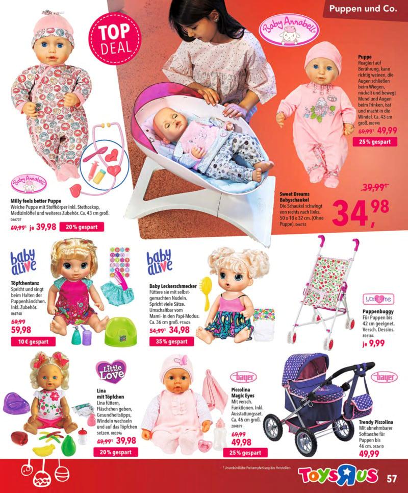 Toys'R'Us Prospekt vom 13.10.2018, Seite 56