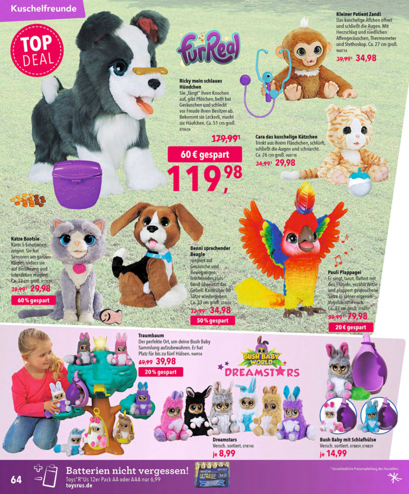 Toys'R'Us Prospekt vom 13.10.2018, Seite 63