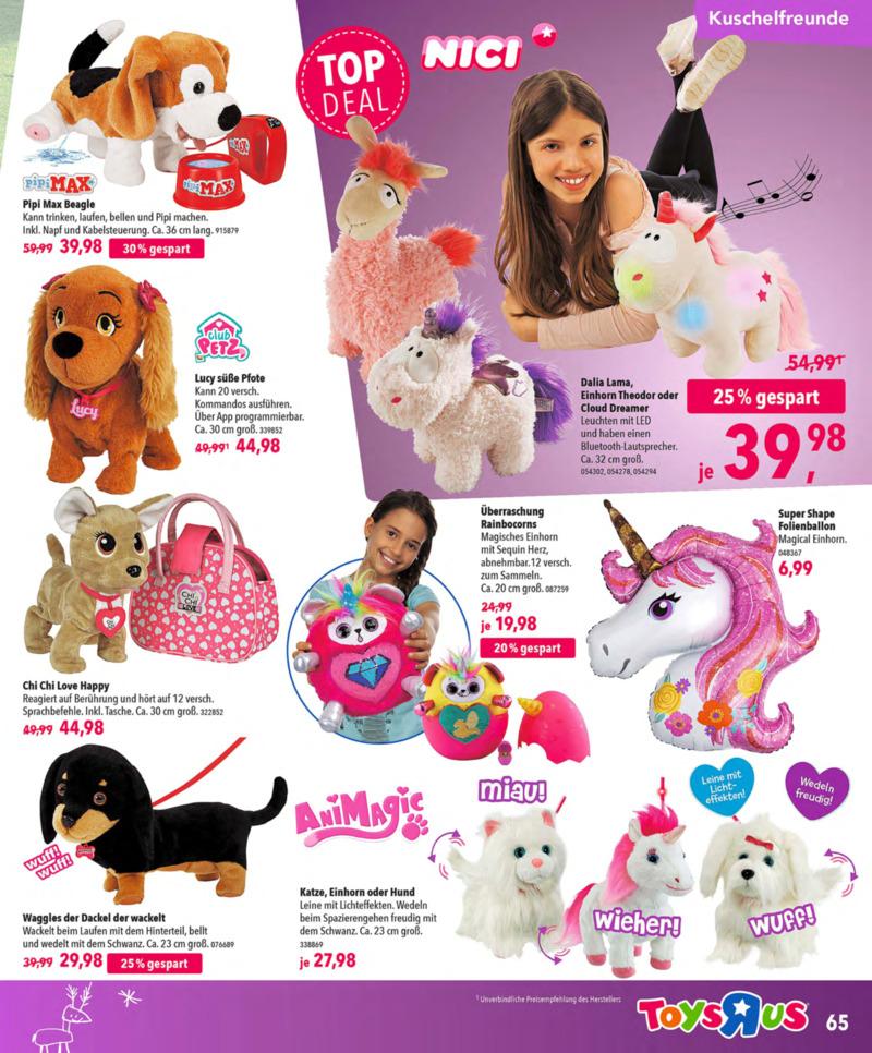 Toys'R'Us Prospekt vom 13.10.2018, Seite 64