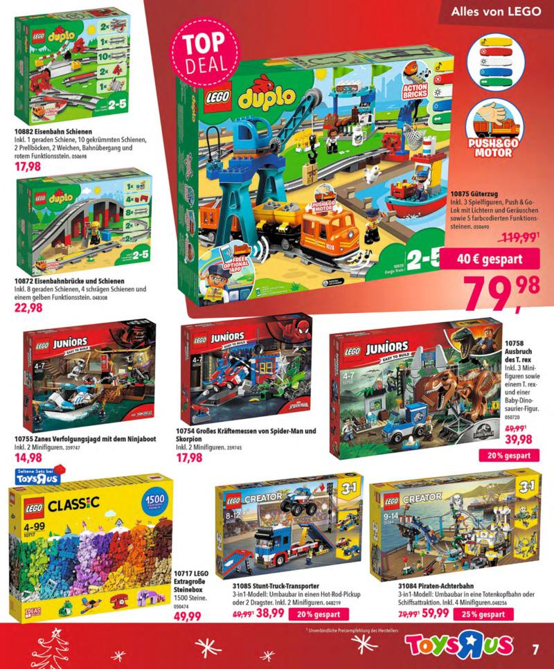 Toys'R'Us Prospekt vom 13.10.2018, Seite 6