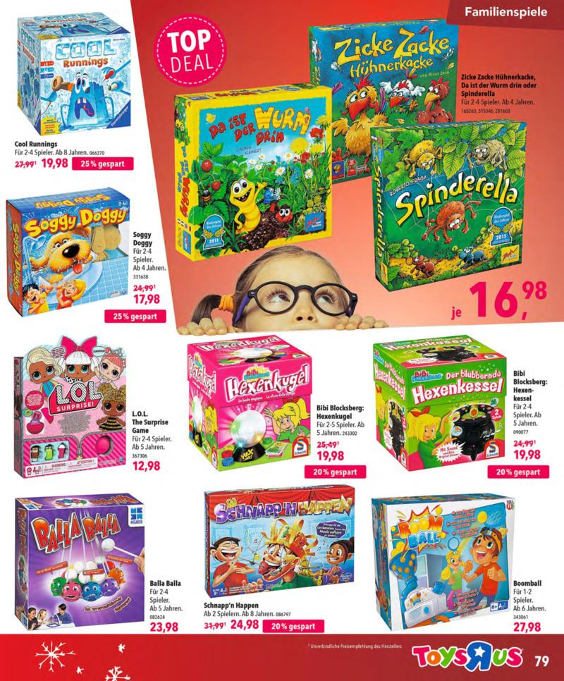 Toys'R'Us Prospekt vom 13.10.2018, Seite 78