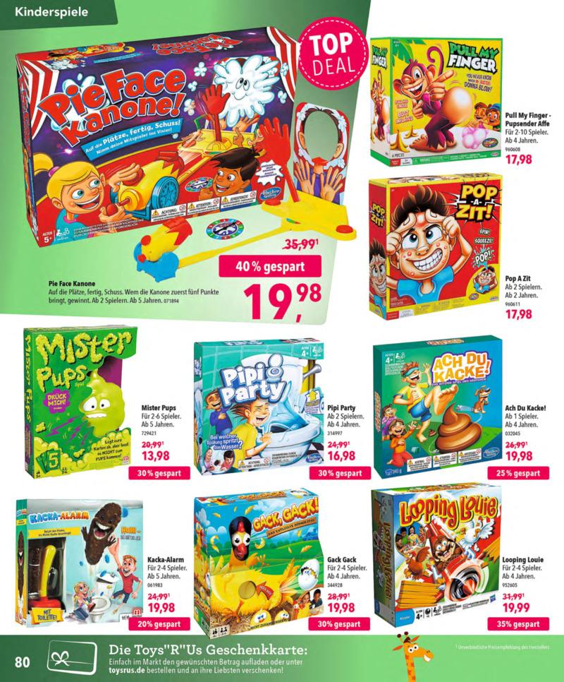 Toys'R'Us Prospekt vom 13.10.2018, Seite 79