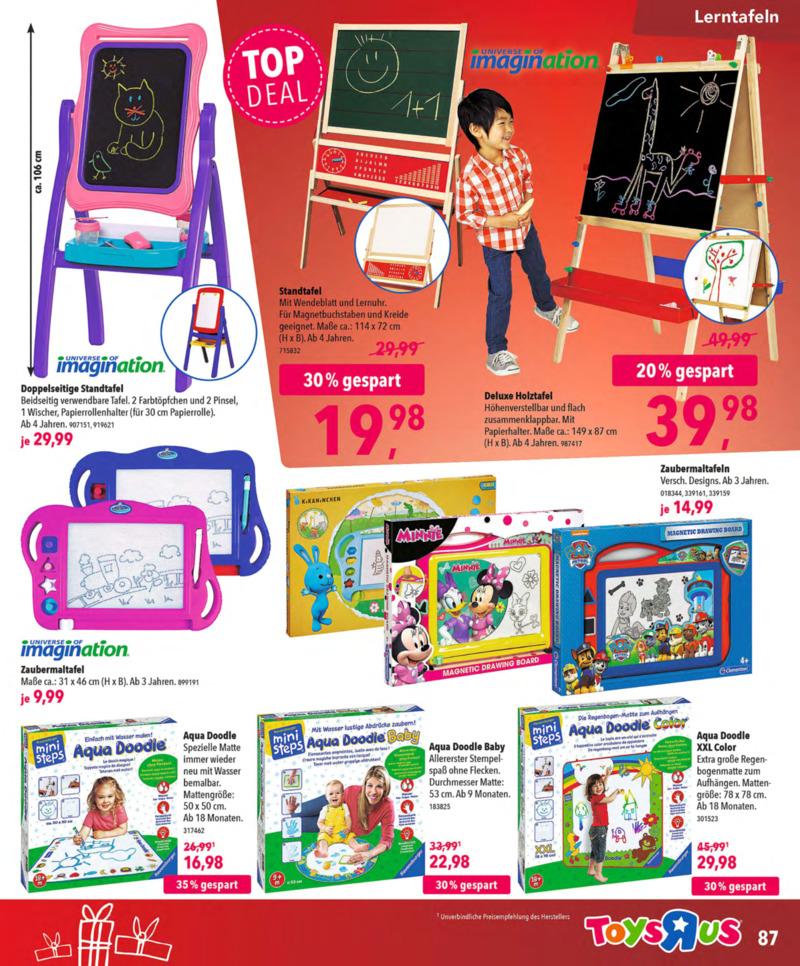 Toys'R'Us Prospekt vom 13.10.2018, Seite 86