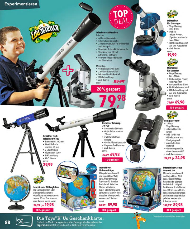 Toys'R'Us Prospekt vom 13.10.2018, Seite 87