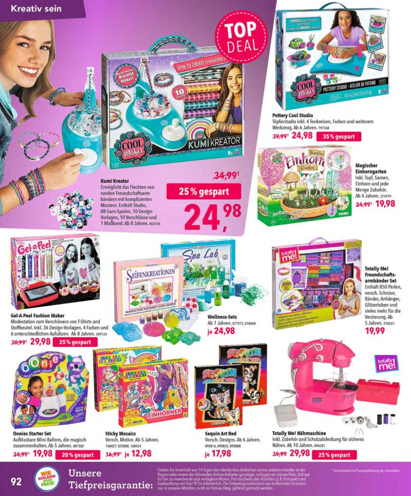 Toys'R'Us Prospekt vom 13.10.2018, Seite 91
